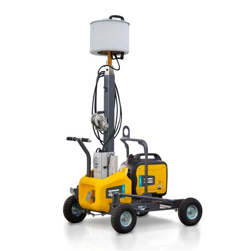 Atlas Copco LED Light Tower HiLight V2+ - generator shown is not included