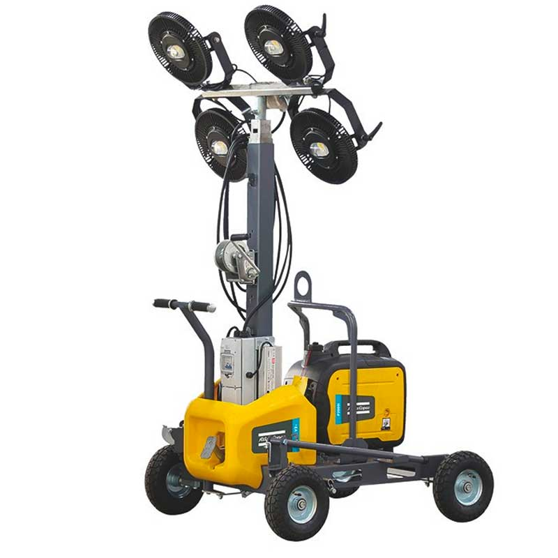 Atlas Copco LED Light Tower HiLight V3+ - note generator not included