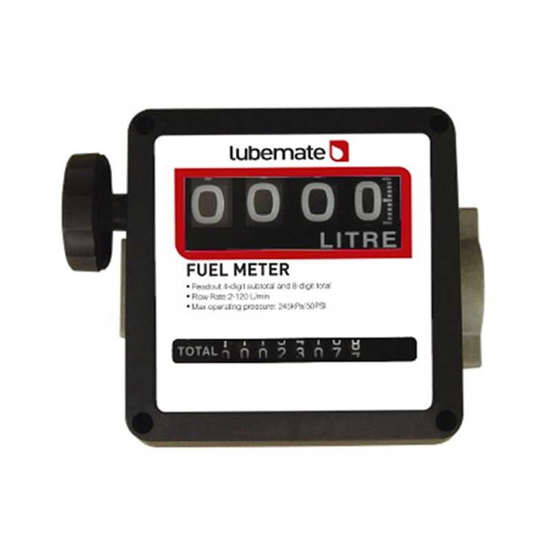 Macnaught Mechanical Diesel Meter L-FM25