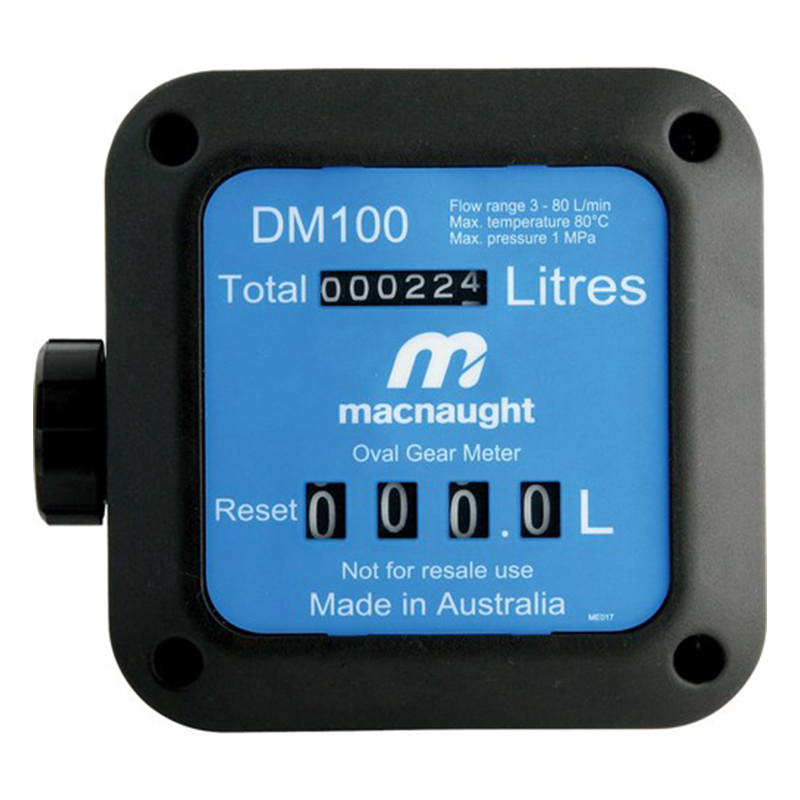 Macnaught Mechanical Fuel Meter DM100-01
