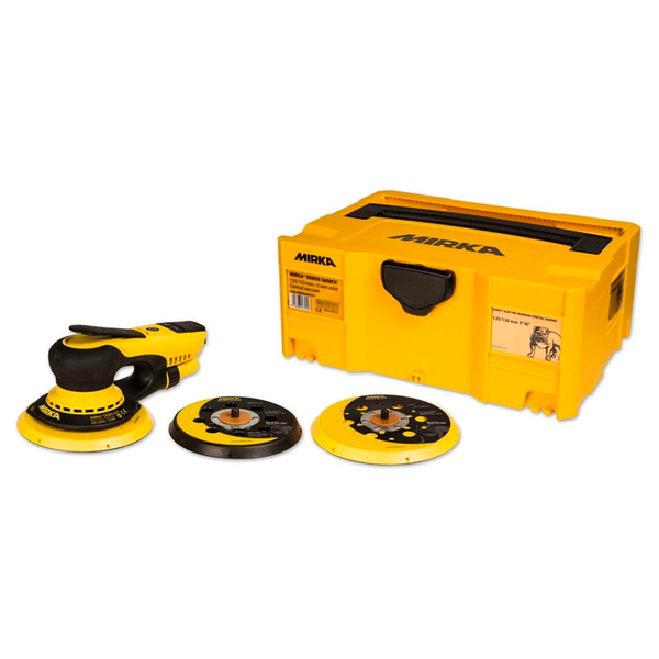 Mirka® DEROS - Direct Electrical Random Orbital Sander 2 in 1 Kit Solution (125/150mm Pad)