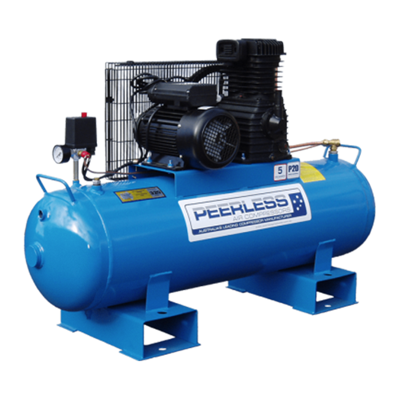 Peerless Air Compressor Single Phase High Flow P20 Fatboy