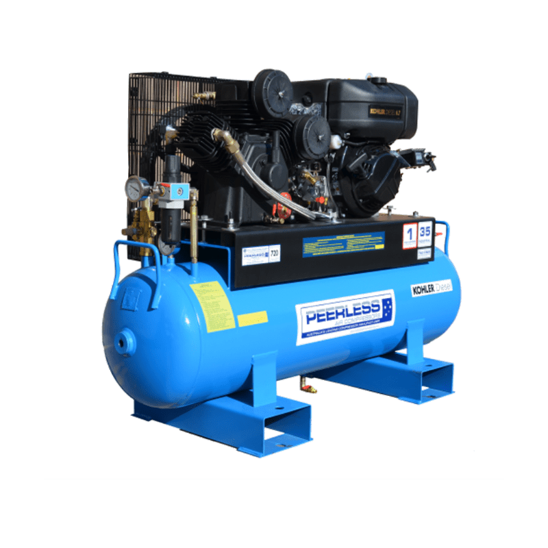 Peerless Air Compressor Diesel PHP35D 720LPM 00094