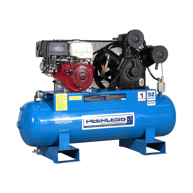 Peerless Air Compressor Petrol PHP52 1040LPM 00099