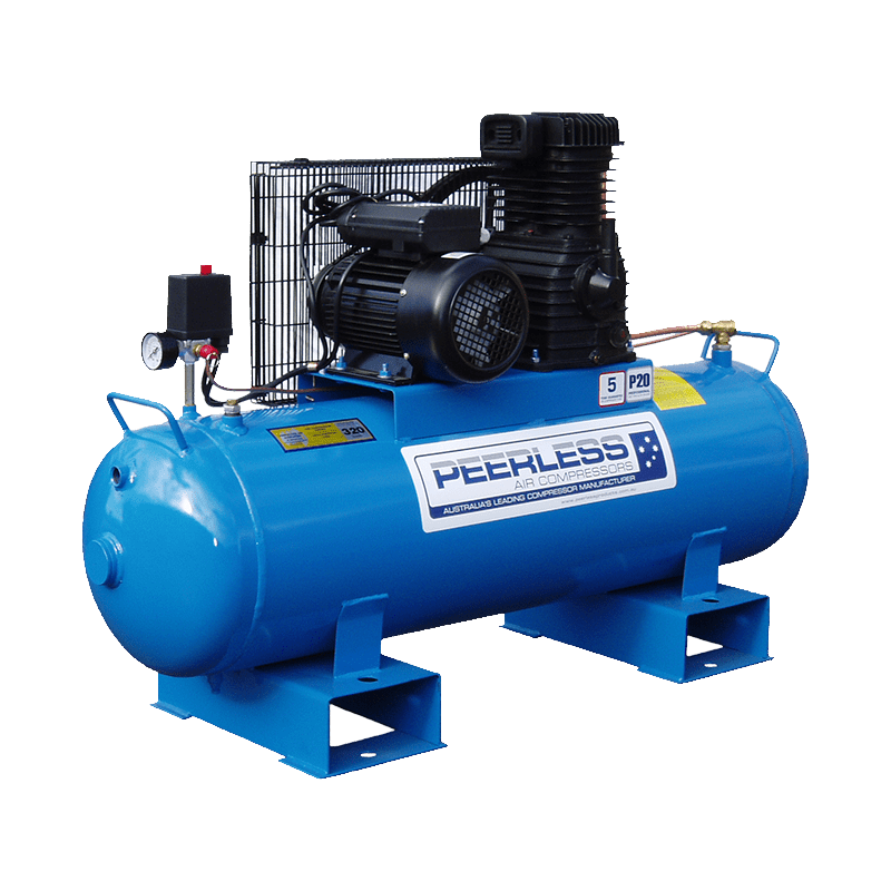 Peerless Air Compressor Single Phase High Flow Fatboy P20 00008