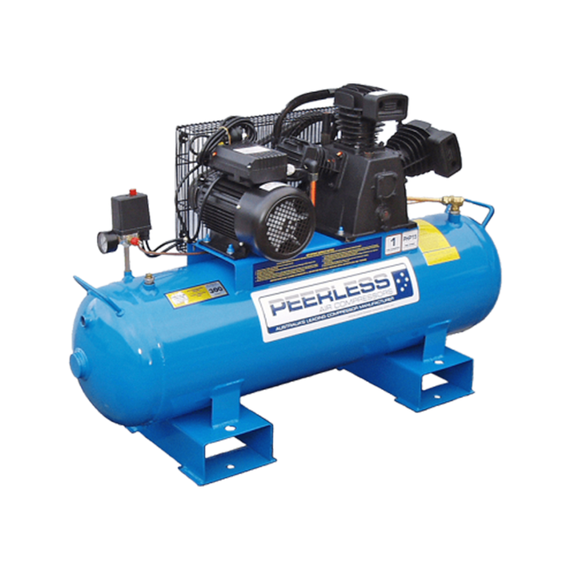 Peerless Air Compressor Single Phase High Pressure PHP15 Fatboy