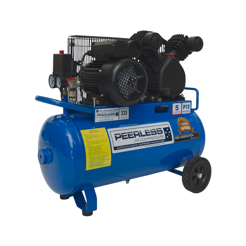 Peerless Air Compressor Single Phase Portable P13