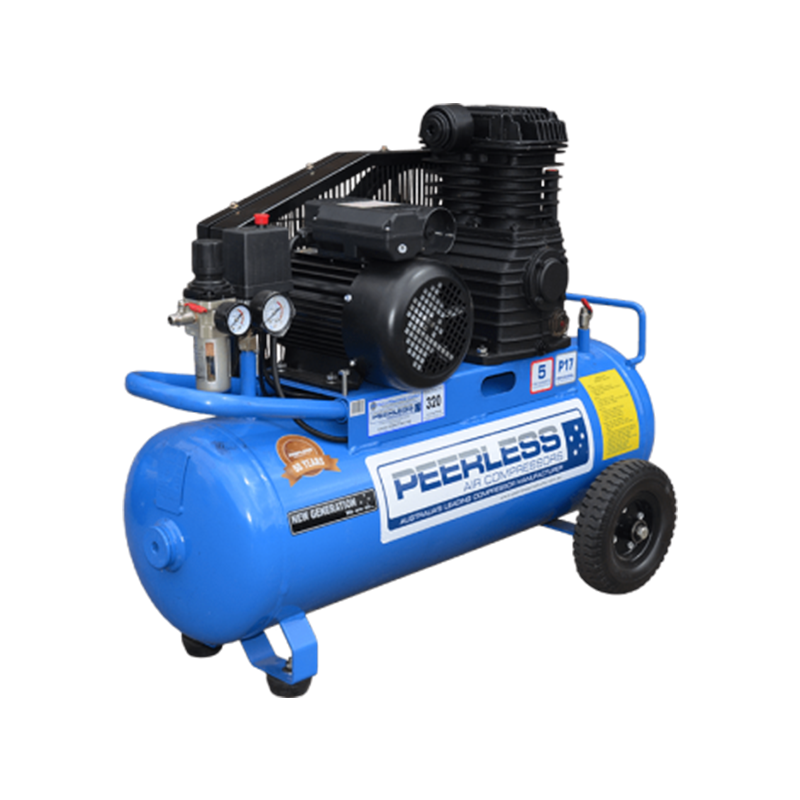 Peerless Air Compressor Single Phase Portable P17