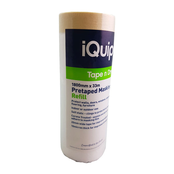 iQuip Pre-taped Masking Film Refills