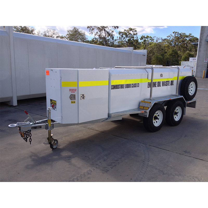 SERVICE TRAILER iFUEL® Self Bunded Low Profile Galvanised Dual Axle 2000L