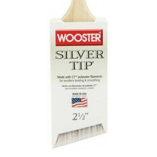 Wooster Silver Tip Angle Sash Brush SOFT Range Specs