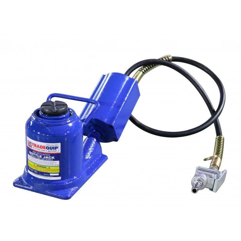 Tradequip Bottle Jack Air Hydraulic 20T 2051T