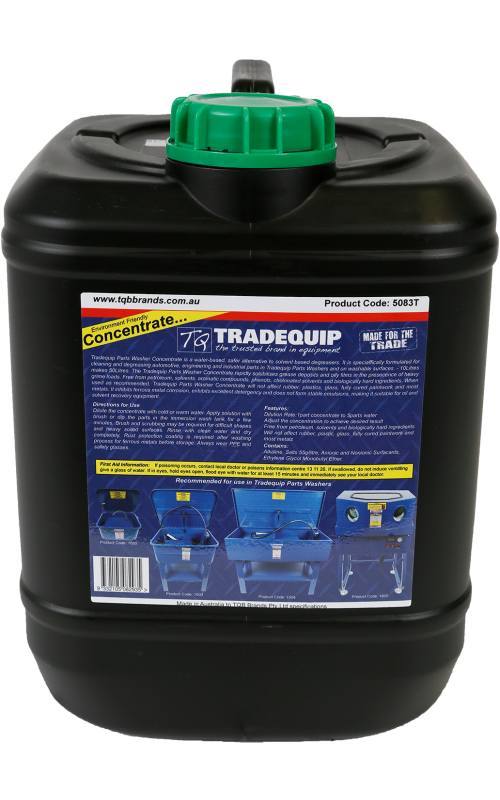 Tradequip Parts Wash Concentrate 10L 5083T