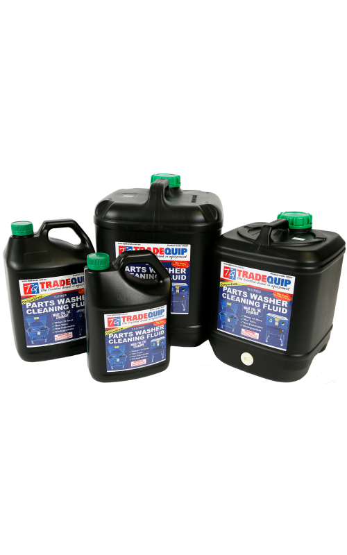 Tradequip Parts Wash Concentrate Range