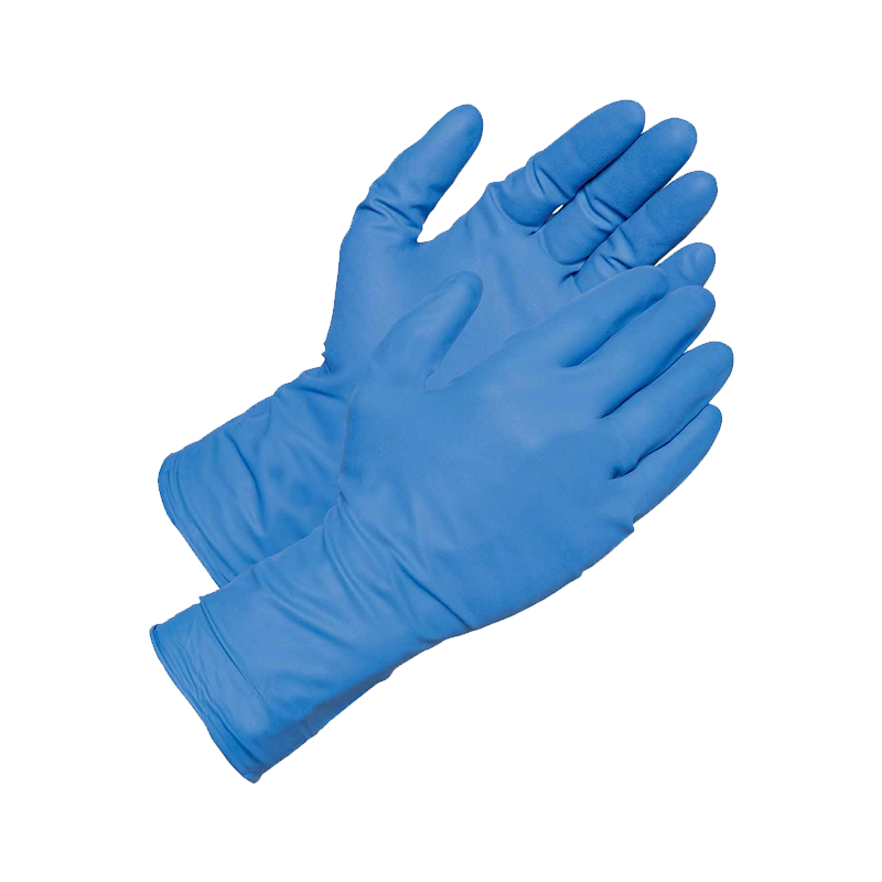Trafalgar Blue Nitrile Gloves PKT 5 873493