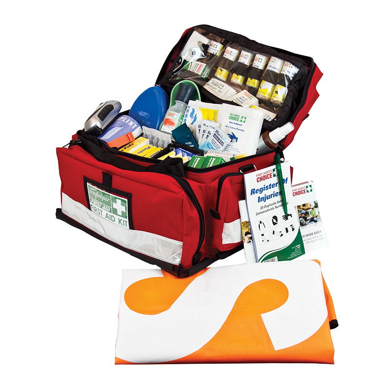 Trafalgar National Outdoor and Remote First Aid Kit 875494