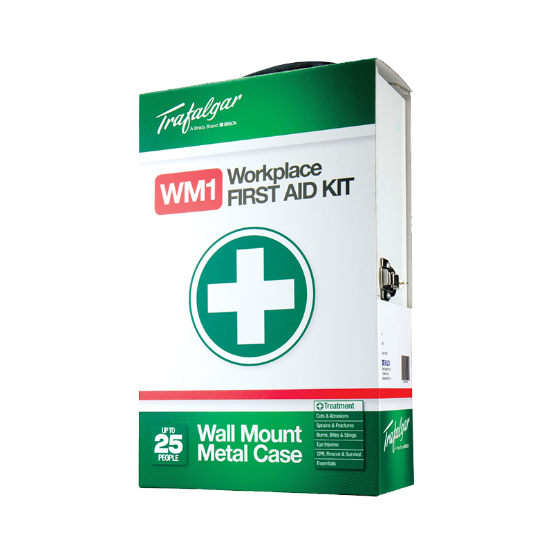 Trafalgar Workplace First Aid Kit Wall Mount