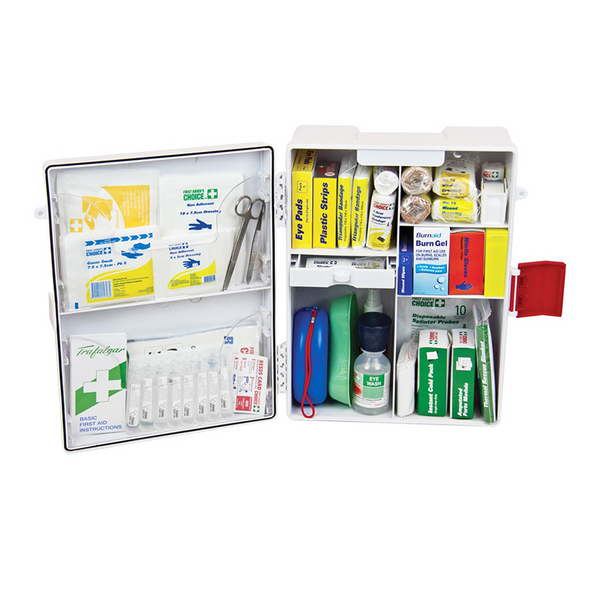 Trafalgar Workplace First Aid Kit Wall Mount Inside