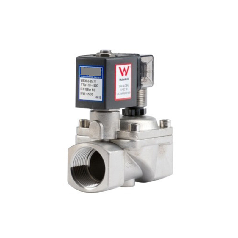 "GO Solenoid Valve 1/2"" to 2"" WS35 Watermark Approved Stainless General Purpose Normally Closed Range"