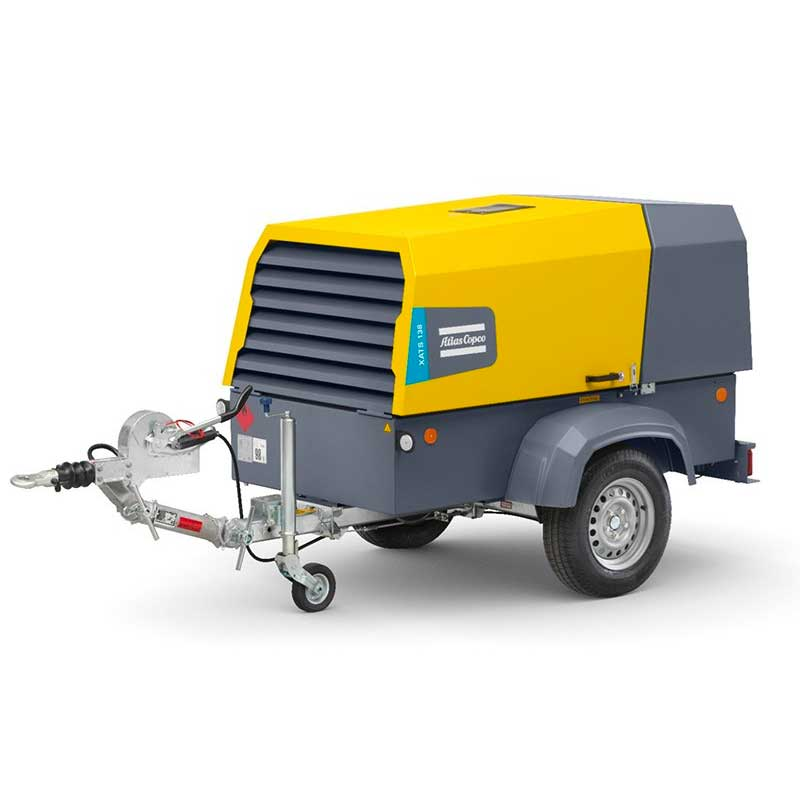 Atlas Copco Air Compressor Portable XAHS 108 189CFM