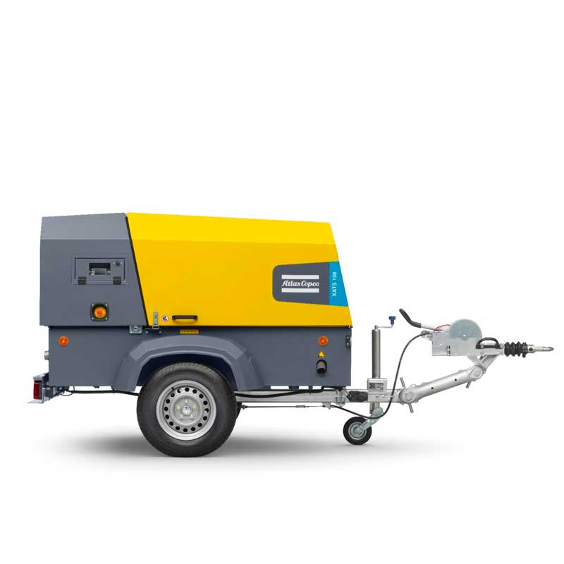 Atlas Copco Air Compressor High Capacity XAS 138 250cfm