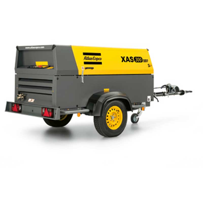 Atlas Copco Air Compressor Portable XAS 300 DD7 269CFM