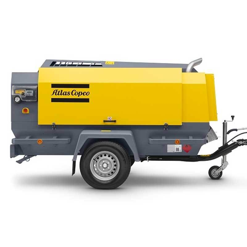 Atlas Copco Air Compressor Portable XAMS 600+ DD7