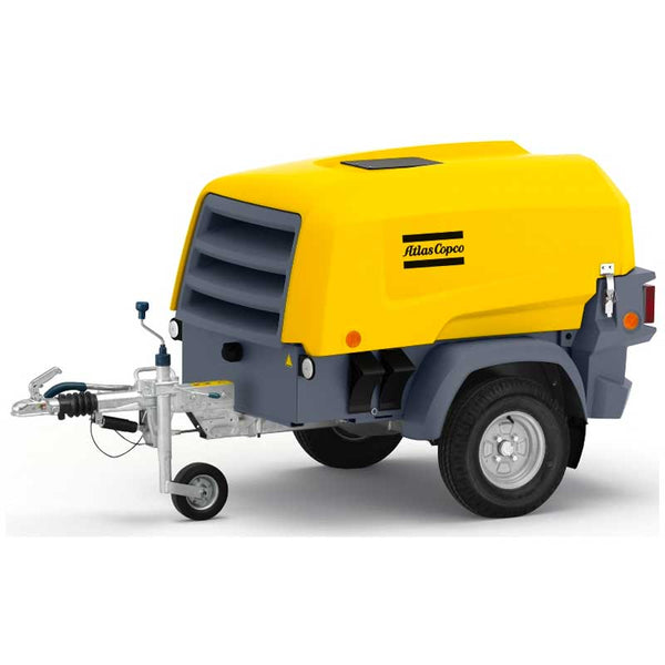 Atlas Copco 2 in 1 Portable Air Compressor & Generator XAS 48 KdG 90CFM