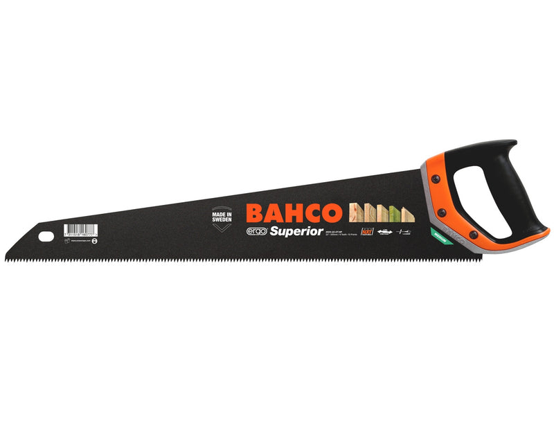 "Bahco XT Superior 22"" 550mm XT9 Tooth Panel Handsaw"