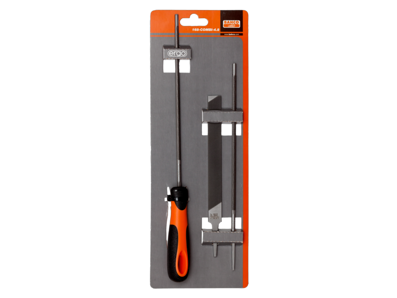 Bahco File Chain Saw Combination Pack 168-COMBI