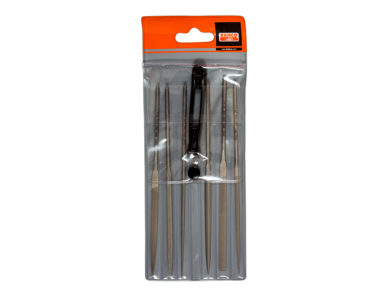 Bahco File Needle Set of 6 2-470