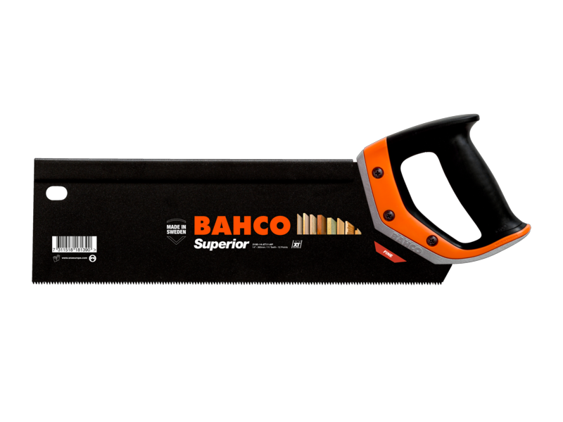 "Bahco XT Superior 14"" 350mm XT11 Tooth Tenon Handsaw"