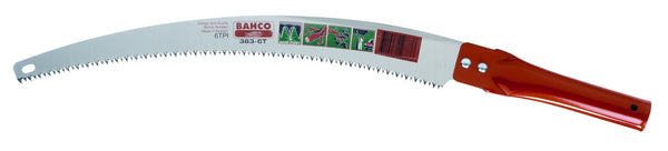 "Bahco Pruning Saw Hard Point Toothing 350mm (14"") 383-6T"