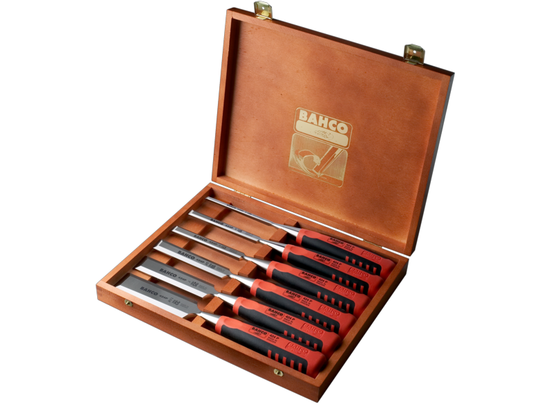 Bahco Chisel Set - 424P Series - 6 Piece Set