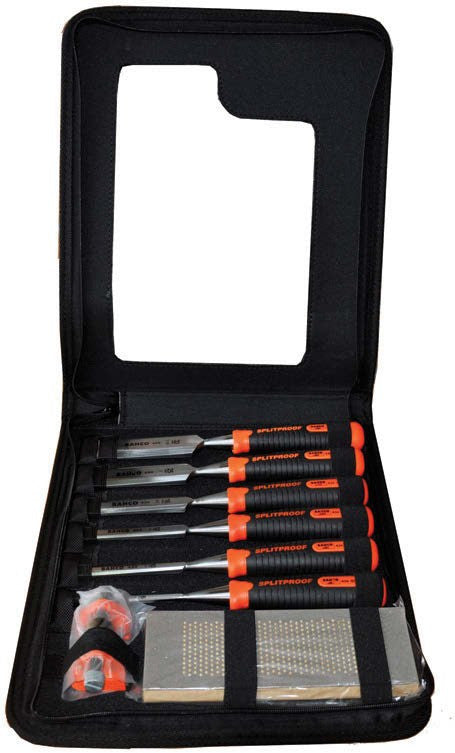 Bahco Chisel Set 6 Piece Zipper Case 434-S6-ZC