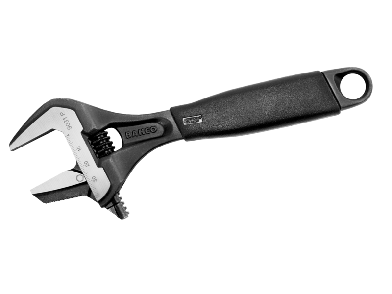 Bahco Adjustable Wrench Extra Wide Opening 9031P