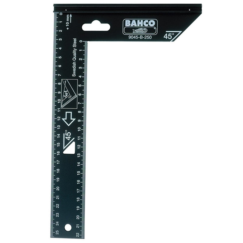 "Bahco Single Piece Square 10"" 250mm"