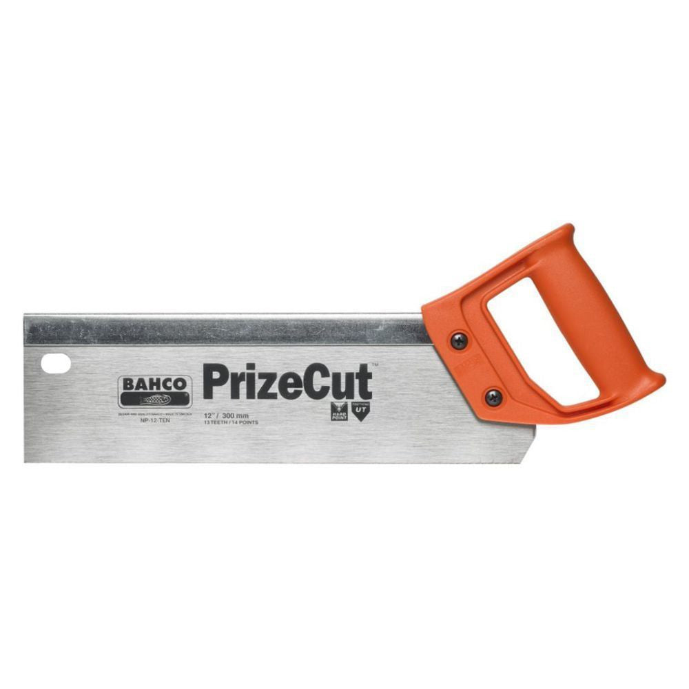 "Bahco Prize Cut 12"" 300mm Universal 13/14 Tooth, Tenon Handsaw"