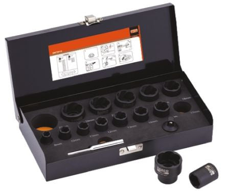 Bahco Twist Socket 16 Piece Set BWTSP16