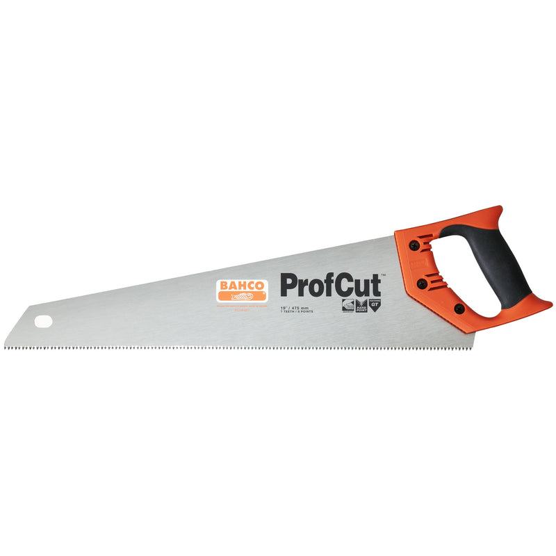 "Bahco ProfCut 19"" 475mm 7/8  GT Tooth Handsaw"