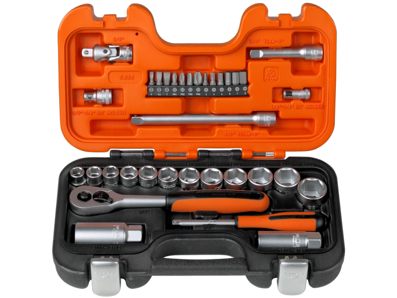 Bahco Socket Set 34 Piece S330