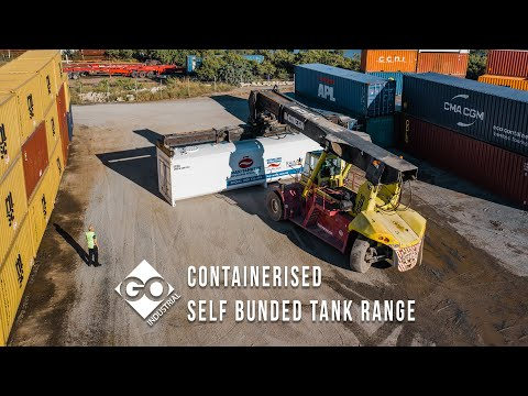GO CON-69 Self Bunded Containerised Tank for a Corporate Agriculture Application in New South Wales