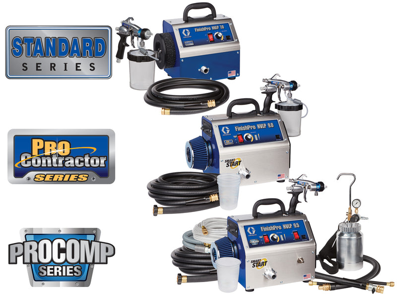 GRACO FinishPro HVLP Sprayers Range