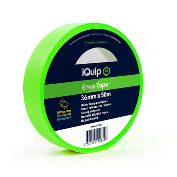 iQuip Envo Tape 6 Pack - 36mm x 50M