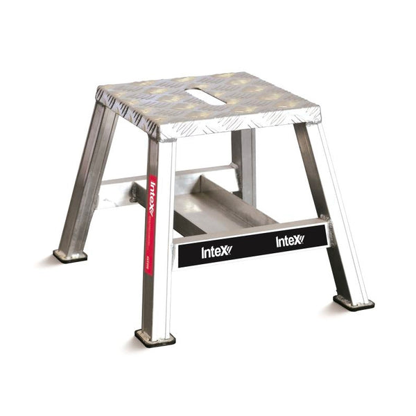iQuip Aluminium Step Stool Fixed Stool 370mm
