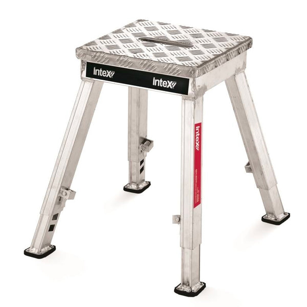 iQuip Aluminium Step Stool Adjustable 430-560mm