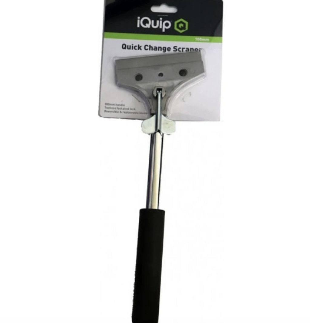 iQuip Scraper Toolless Quick Change 100mm