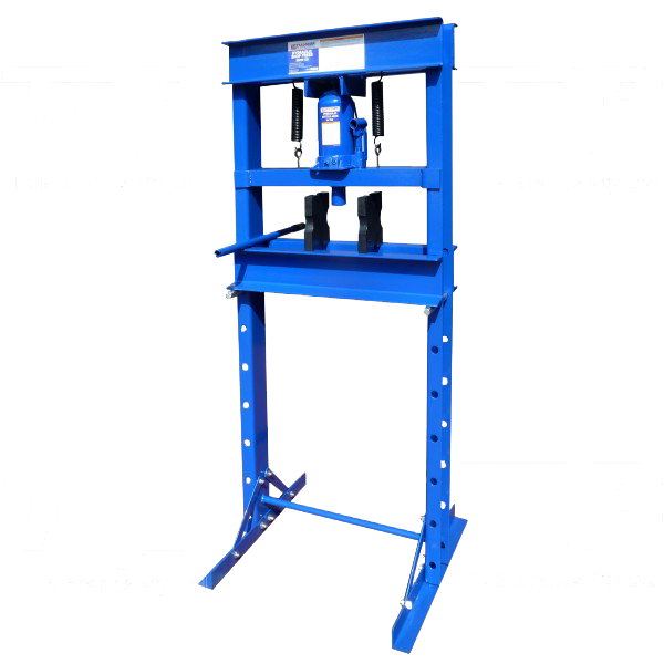 Tradequip Press Hydraulic 20T Rated Welded Frame 1002