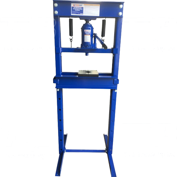 Tradequip Press Hydraulic 20T Rated 1060T