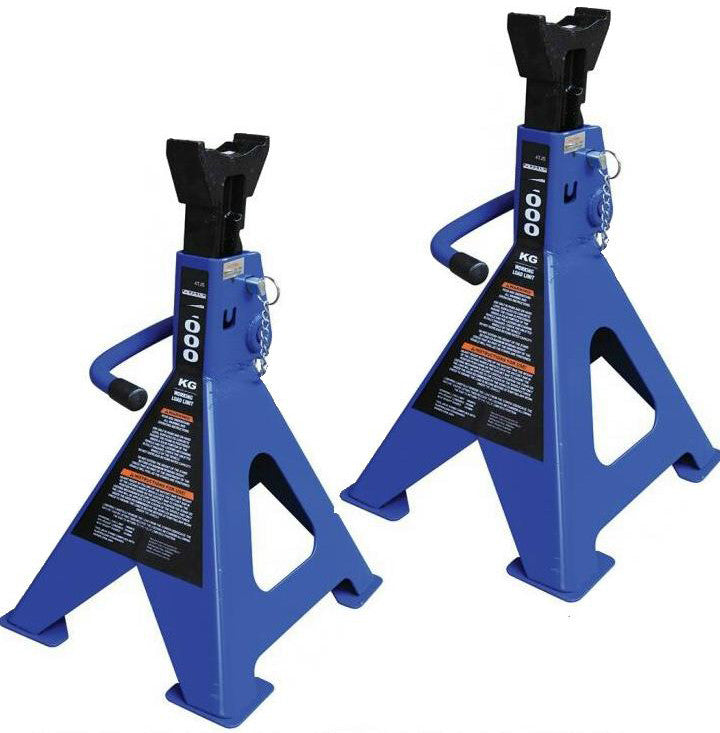 Tradequip Jack Stands (Set of 2) 2T Capacity 1128T
